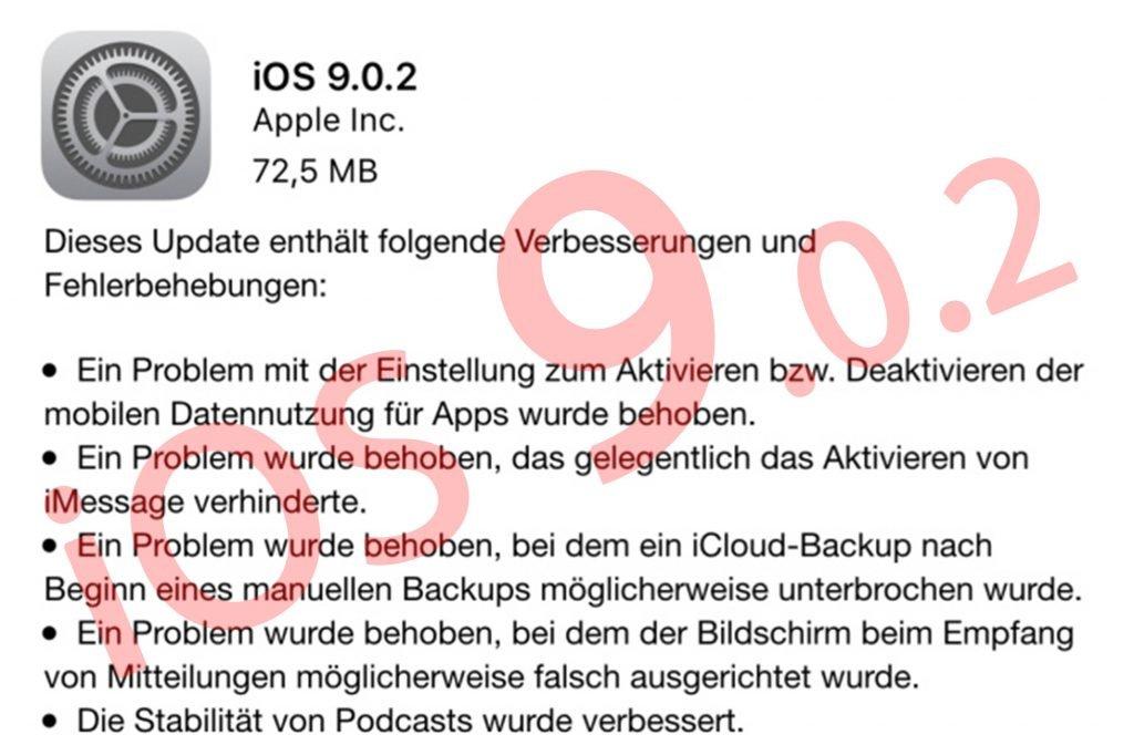 Ios 902 Update Und Ios 91 Beta 3 Zum Download