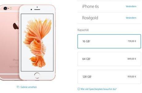 Apple erhöht iPhone 6S Preise: Warum das neue iPhone teurer ist 2