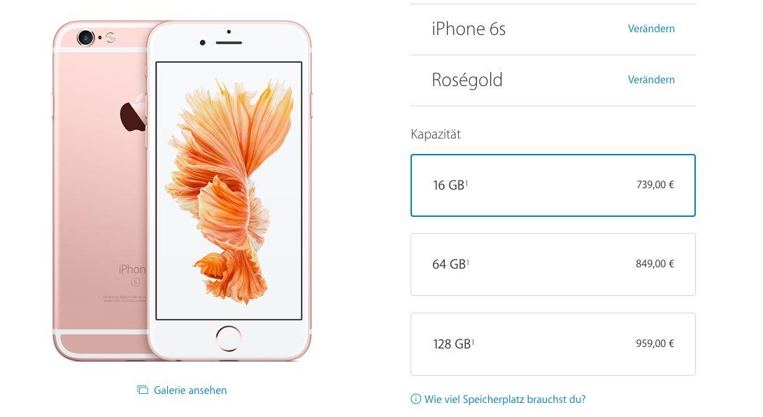 Apple erhöht iPhone 6S Preise: Warum das neue iPhone teurer ist 5
