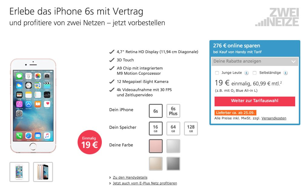 Iphone 6s Bei O2 Iphone Finanzieren über O2 Myhandy Ratenzahlung