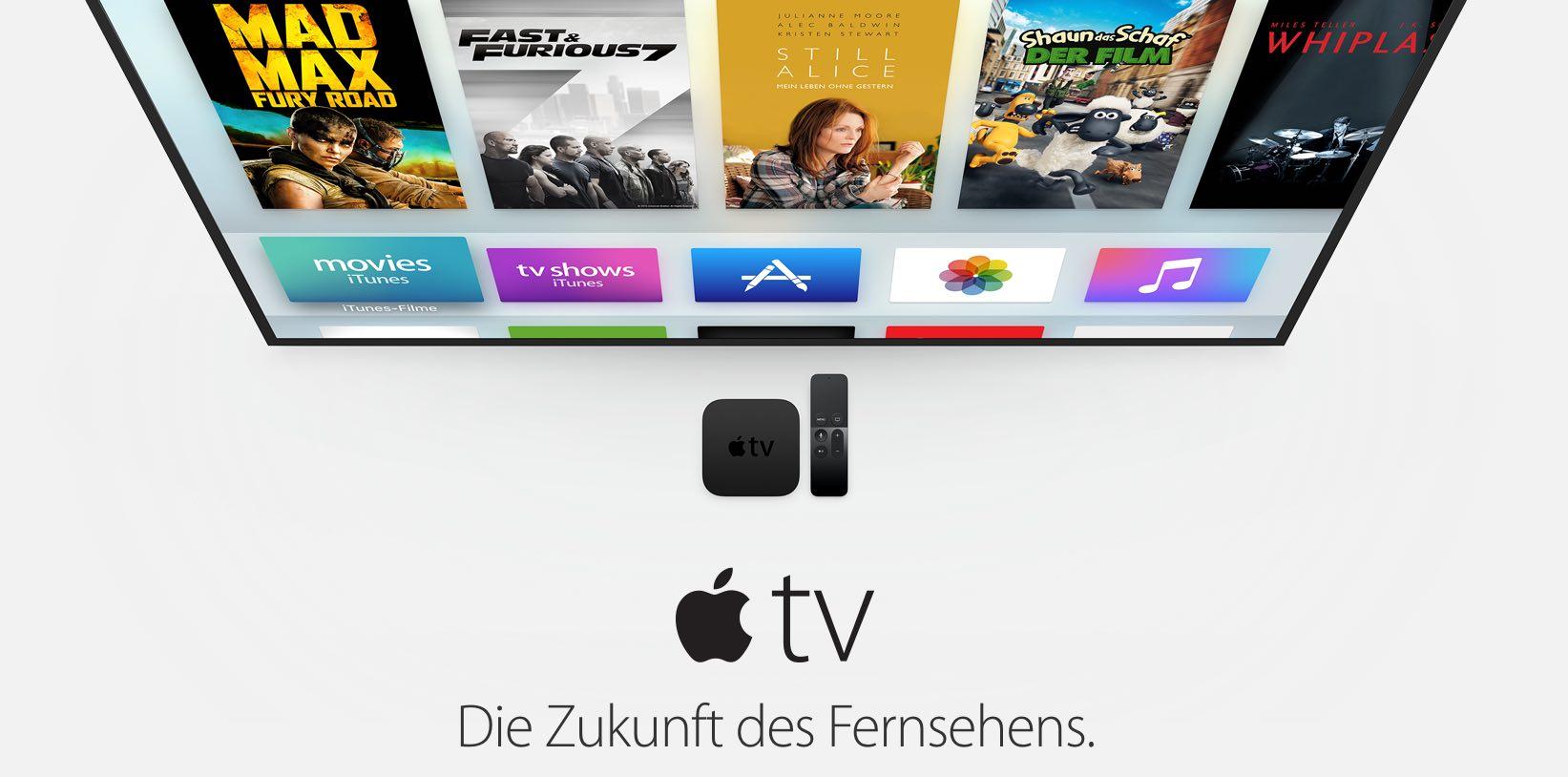 Apple TV: Kein 200 MB Limit für Apple TV Spiele und Apps! 6