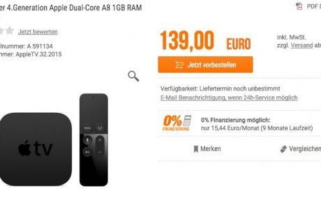 Neues Apple TV 4 kostet 139 Euro: Preise für Deutschland geleakt? 6