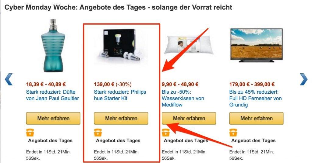 NICHT KAUFEN: Philips hue Starterkit Angebot 30% billiger!