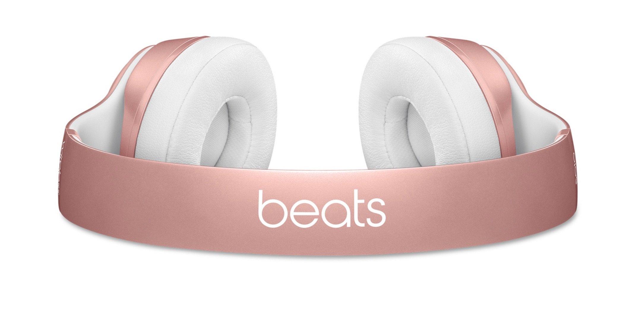 rosa beats apple beats solo 2 wireless und urbeats in ear. Black Bedroom Furniture Sets. Home Design Ideas