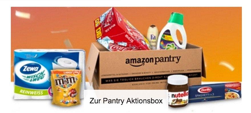 Amazon Pantry Promo Aktion Mit 25 Amazon Gutschein