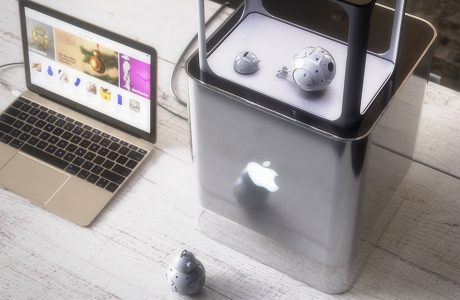 Apple 3D Drucker: der Apple iPrinter 5