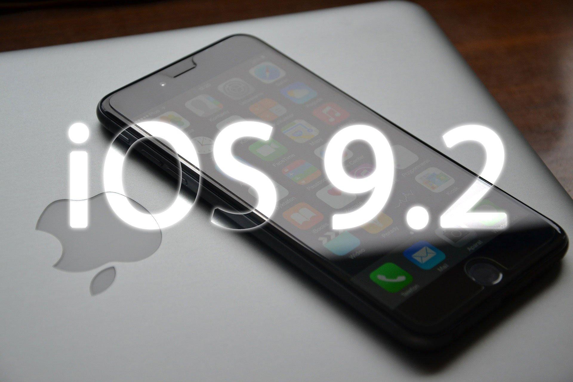 iOS 9.2 ist da: iOS 9.2 Update für iPhone & Co. zum Download erhältlich 1