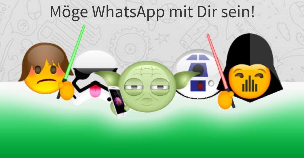 WhatsApp SIM Aktion: Möge WhatsApp mit Dir sein! 8