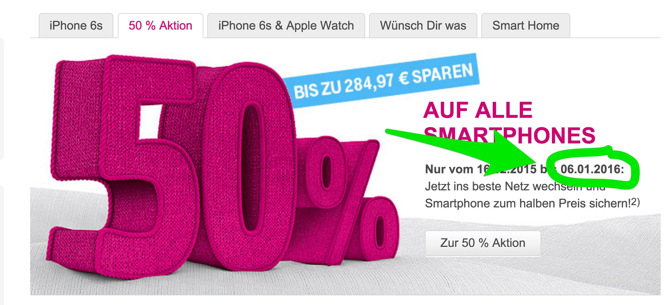 Letzte Chance: T-Mobile iPhone 6s Aktion endet! 3