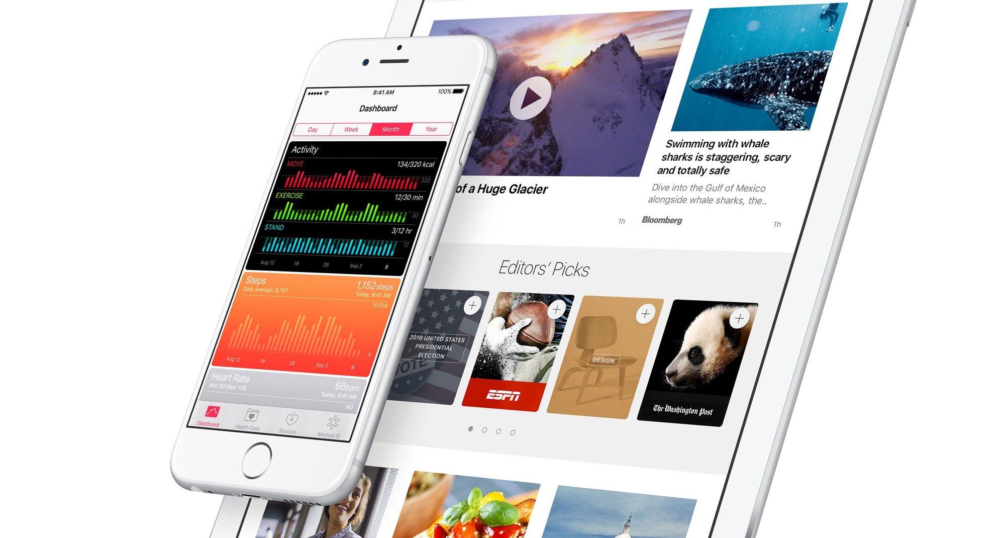 Apple verbessert CarPlay, Notizen und Health App mit iOS 9.3 3