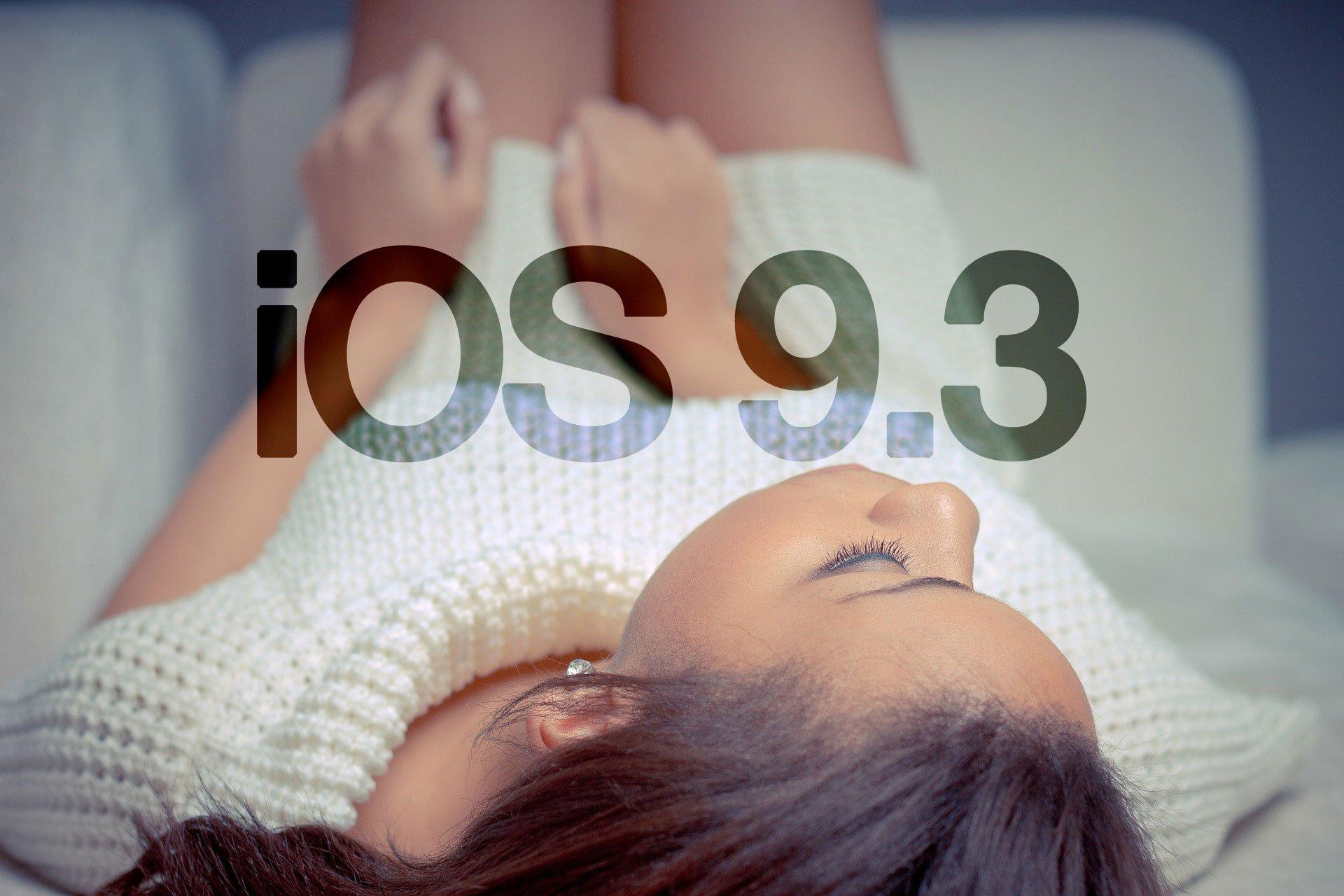 iOS 9.3 & watchOS 2.2 ist da - Download für Entwickler! 3