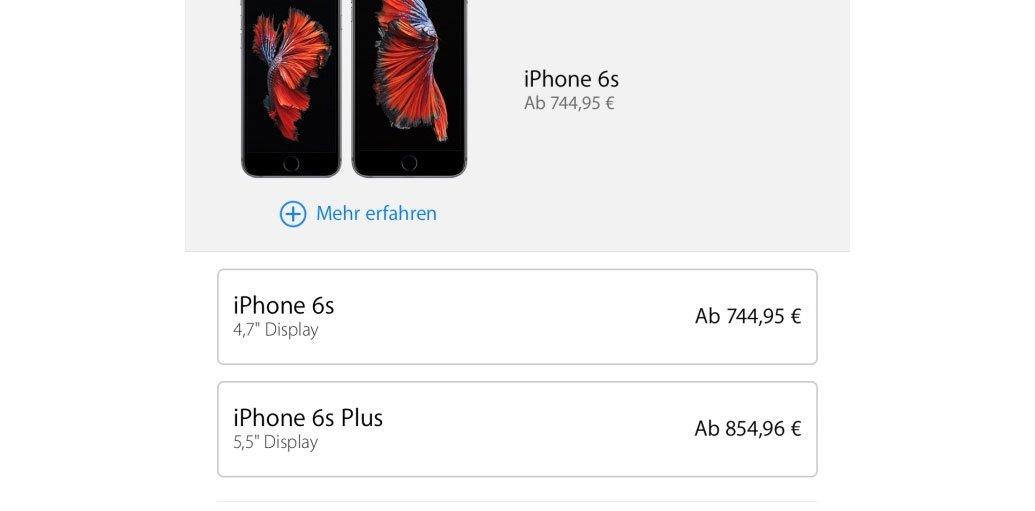 2016: Apple macht iPhone & iPad teurer 7