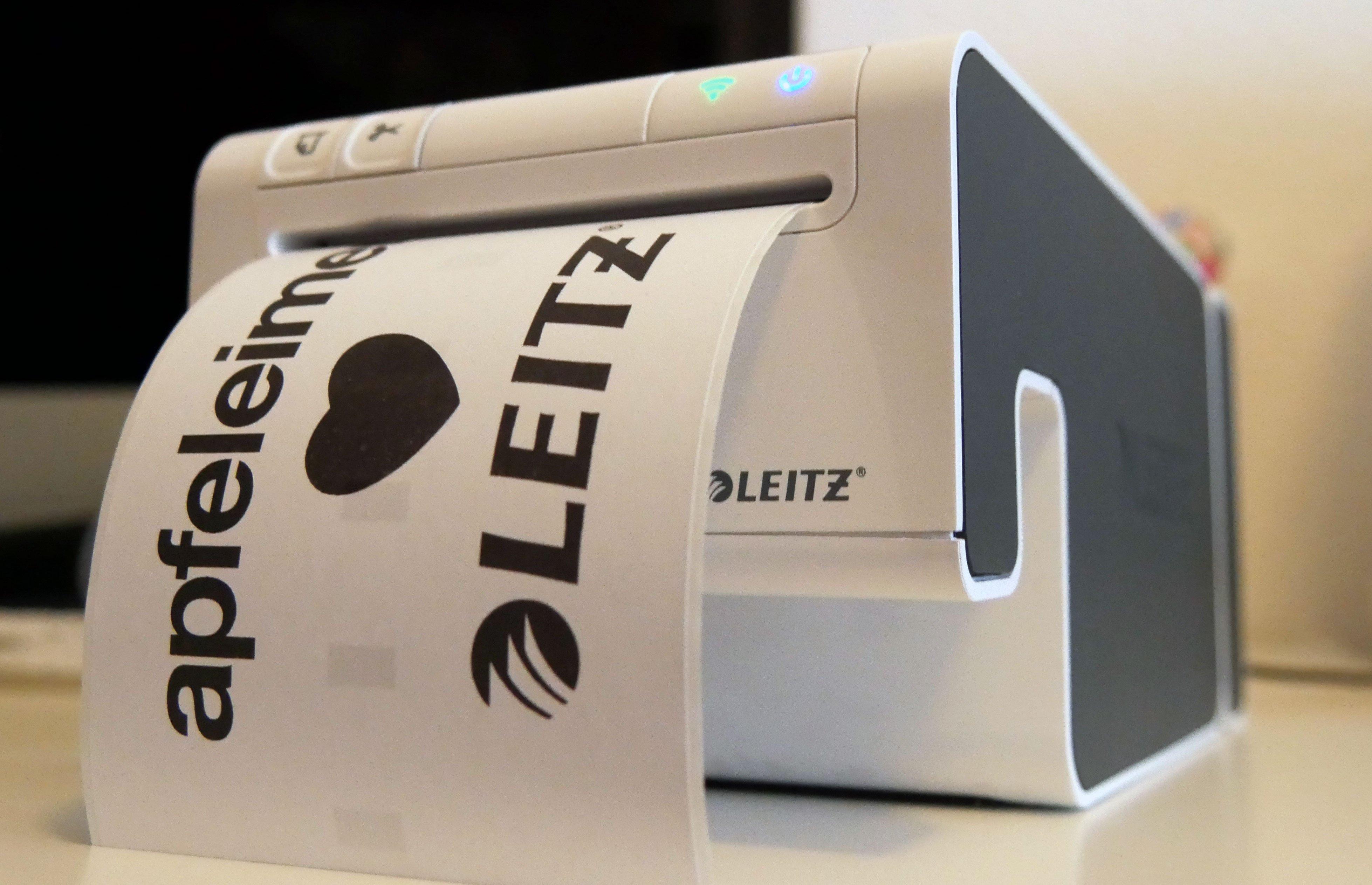 Etikettendrucker Test: Leitz Icon überzeugt 5