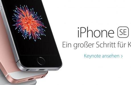 Euro Preise Deutschland für iPhone SE, iPad Pro, Apple Watch 4