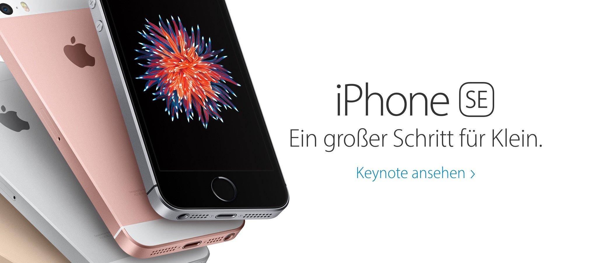 Euro Preise Deutschland für iPhone SE, iPad Pro, Apple Watch 6