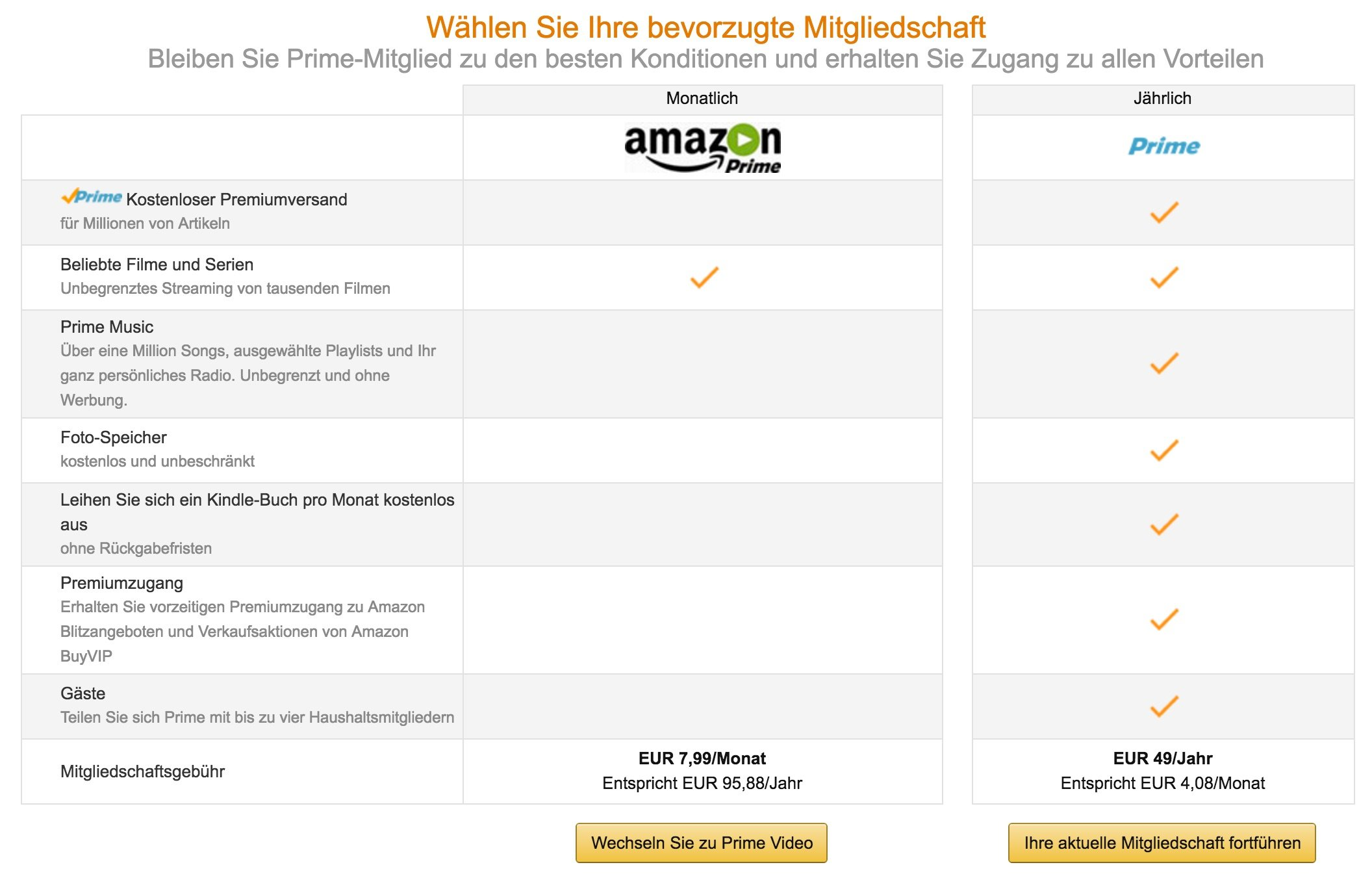 amazon prime bald 99 euro pro jahr