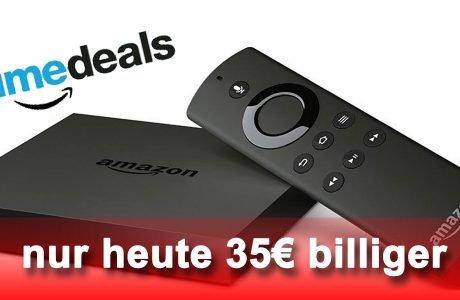 Fire TV heute billiger: neuer 4K Ultra HD Amazon Fire TV für 65 Euro! 4