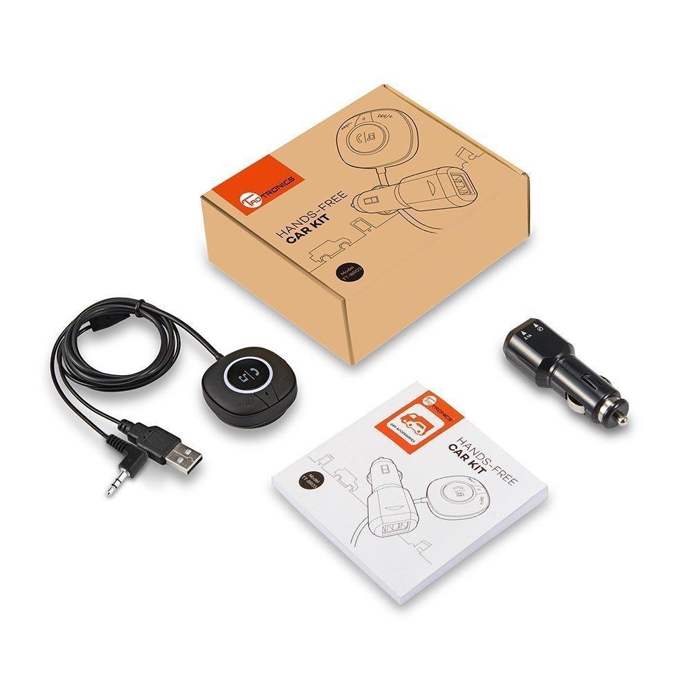 TaoTronics TT-BR03 macht alte Autos fit fürs iPhone 7: Bluetooth Freisprecheinrichtung mit AUX / LINE-IN Klinkenstecker 10