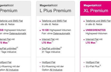 Echte LTE Daten-Full-Flatrate: neuer Telekom MagentaMobil XL Premium Tarif mit jährlichem iPhone Upgrade! 7