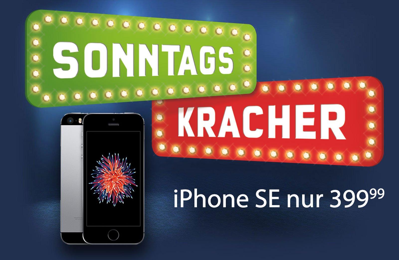 Megakracher: Apple iPhone SE für 399€ im Sonderangebot! 1