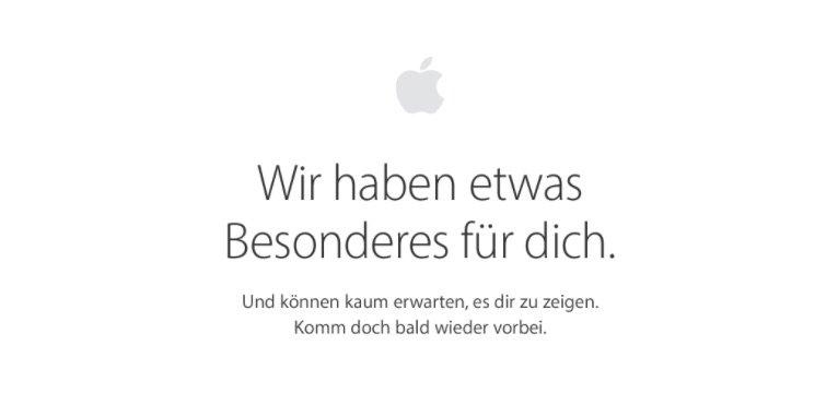 Apple Online Store DE: Vorkasse bzw. Überweisung gestrichen 1
