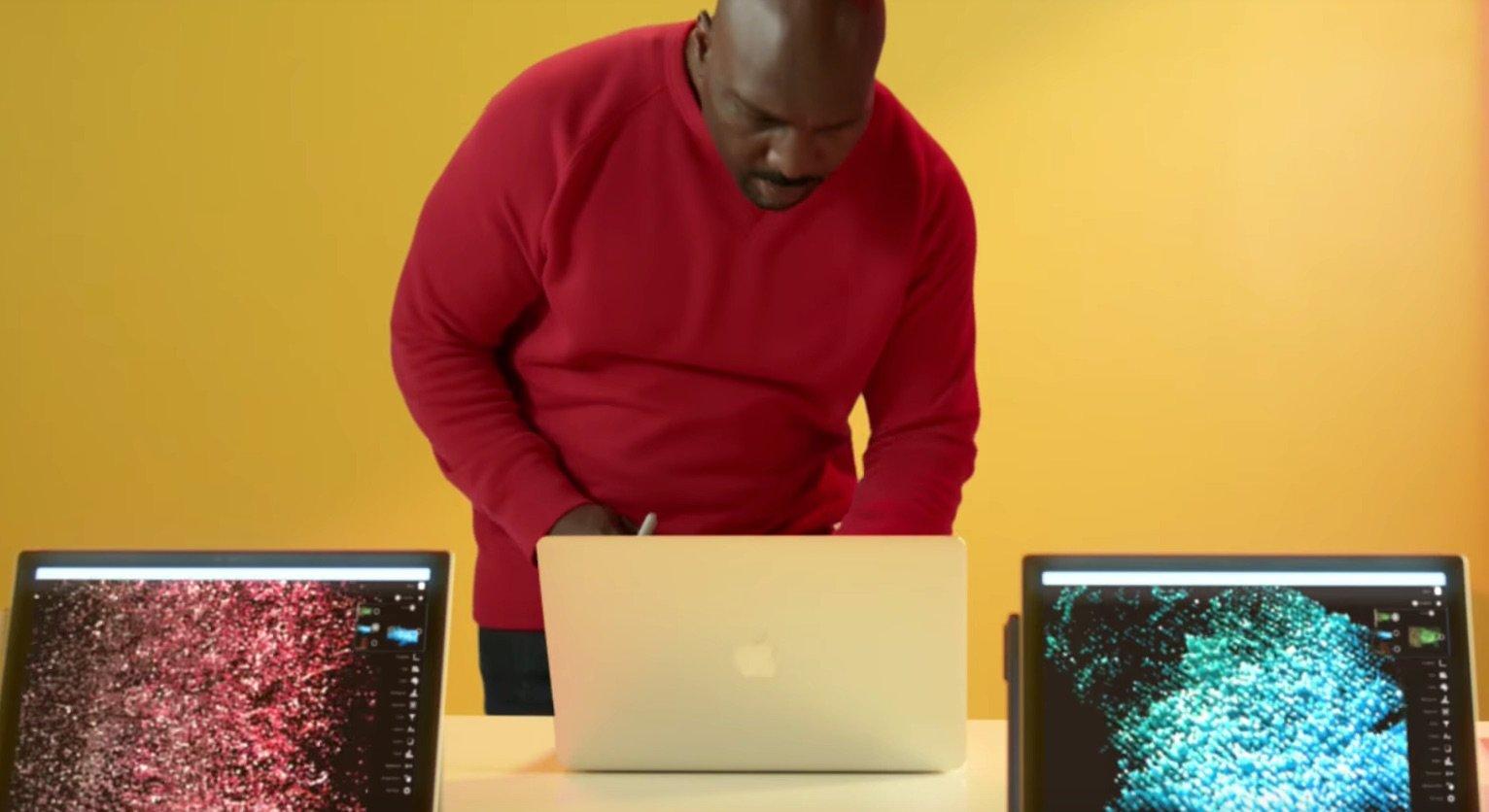 Microsoft Surface Pro 4: Microsoft Werbung stichelt weiter gegen das Apple MacBook 1