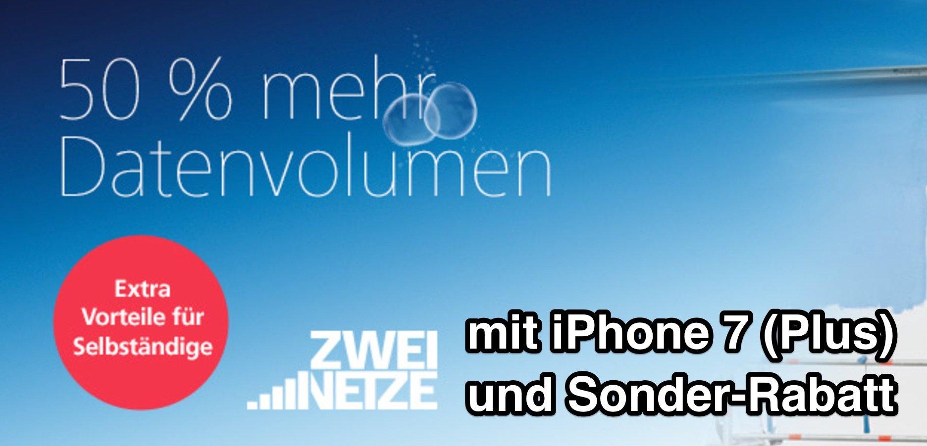 iPhone 7 (Plus) für Geschäftskunden & Selbstständige bis zu 330€ billiger! 1