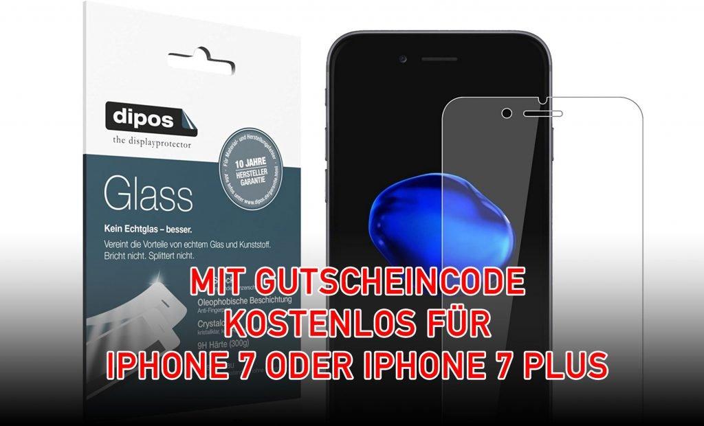 iphone 7 plus displayschutz kostenlos mit gutscheincode. Black Bedroom Furniture Sets. Home Design Ideas