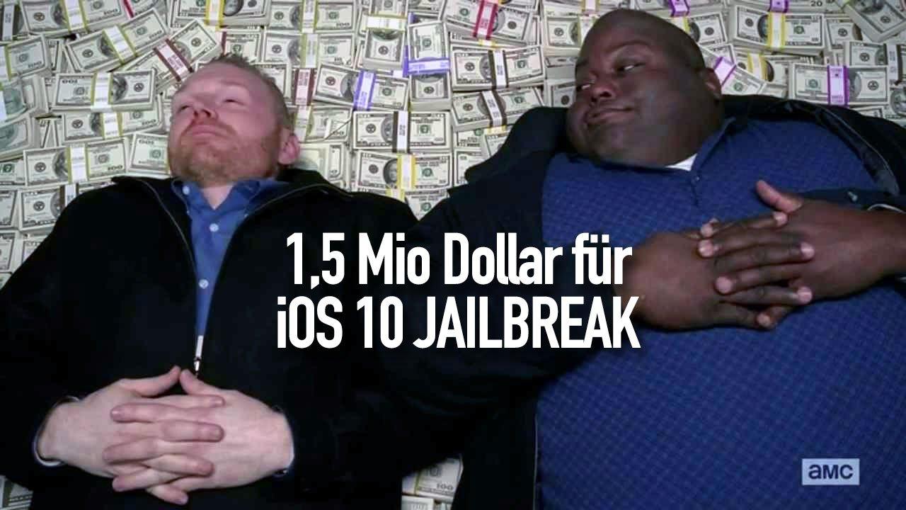 iOS 10 Jailbreak jetzt 1,5 Millionen Dollar wert 1