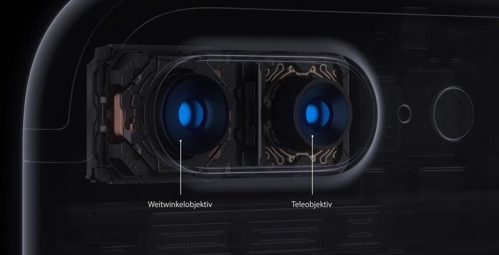 Apple IPhone 8 Plus 7 Patentklage Wegen Dual Kamera
