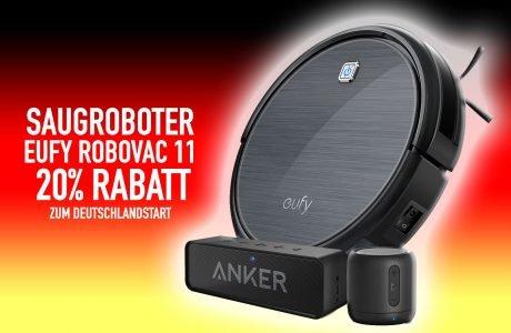 Eufy RoboVac 11 Staubsaug-Roboter: 20% billiger zum Deutschland-Start 3