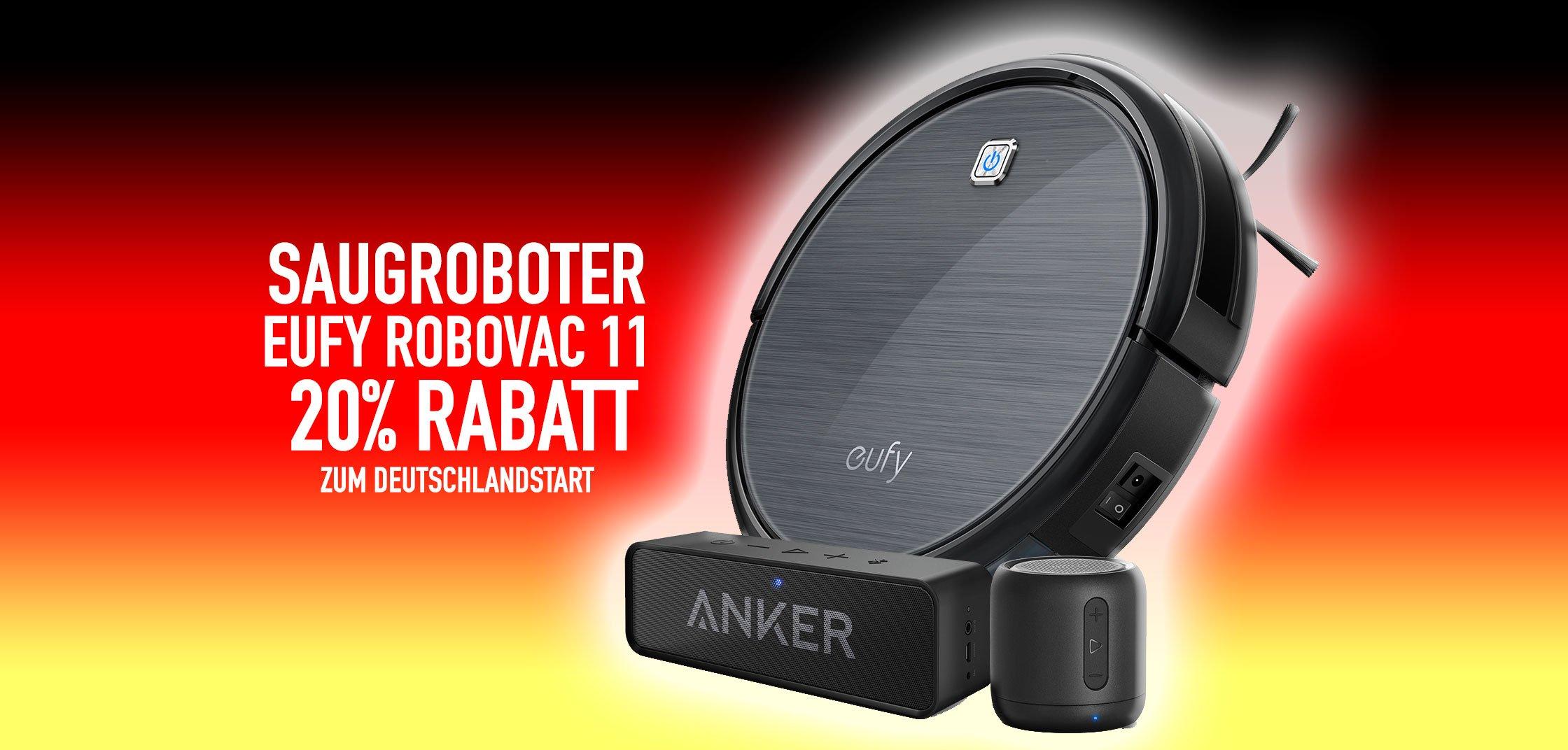 Eufy RoboVac 11 Staubsaug-Roboter: 20% billiger zum Deutschland-Start 9