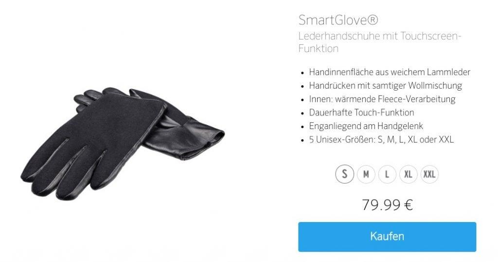 Artwizz SmartGlove: ausgezeichnete Touch Handschuhe fürs iPhone 4