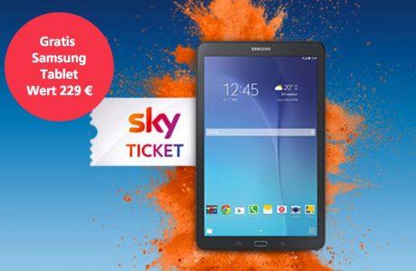 O2 Cyberdeal: Samsung Tablet zum O2 Free Tarif geschenkt! 7