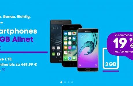 Neue Blau LTE Tarife: 3GB Allnet Flat für 14,99 Euro ohne Datenautomatik 7