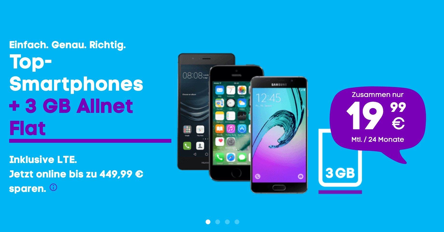 Neue Blau LTE Tarife: 3GB Allnet Flat für 14,99 Euro ohne Datenautomatik 21