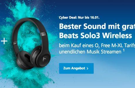 O2 Aktion: Beats Solo 3 Kopfhörer kostenlos zum iPhone 7 11