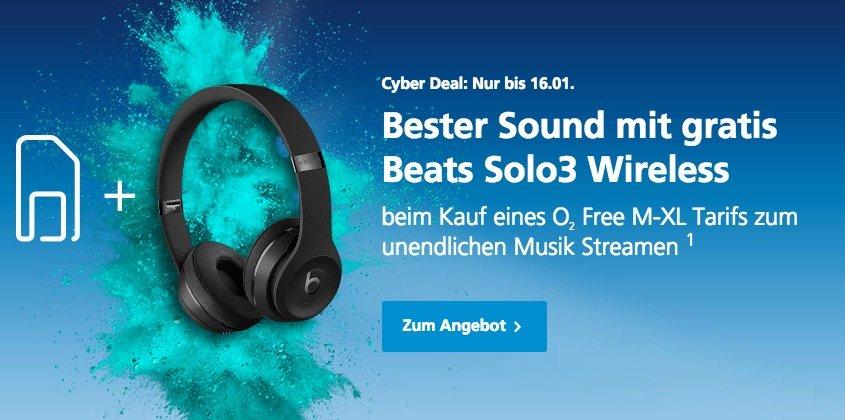 O2 Aktion: Beats Solo 3 Kopfhörer kostenlos zum iPhone 7 1