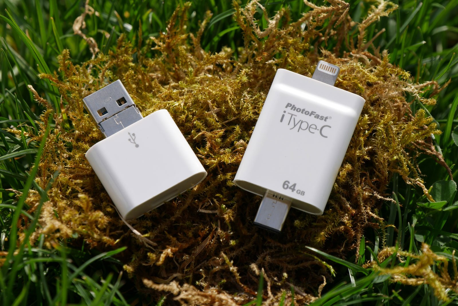 PhotoFast iType-C: USB-Stick für iPhone & iPad mit USB-C, Lightning, USB-A & microUSB 1