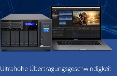 QNAP Thunderbolt 3 NAS mit 40 Gbps über USB-C 14