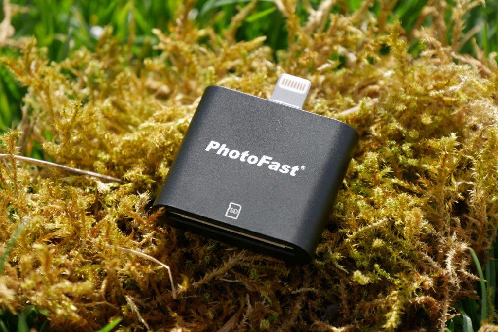 photofast usb stick ios sd kartenleser microsd f r iphone ipad im test. Black Bedroom Furniture Sets. Home Design Ideas