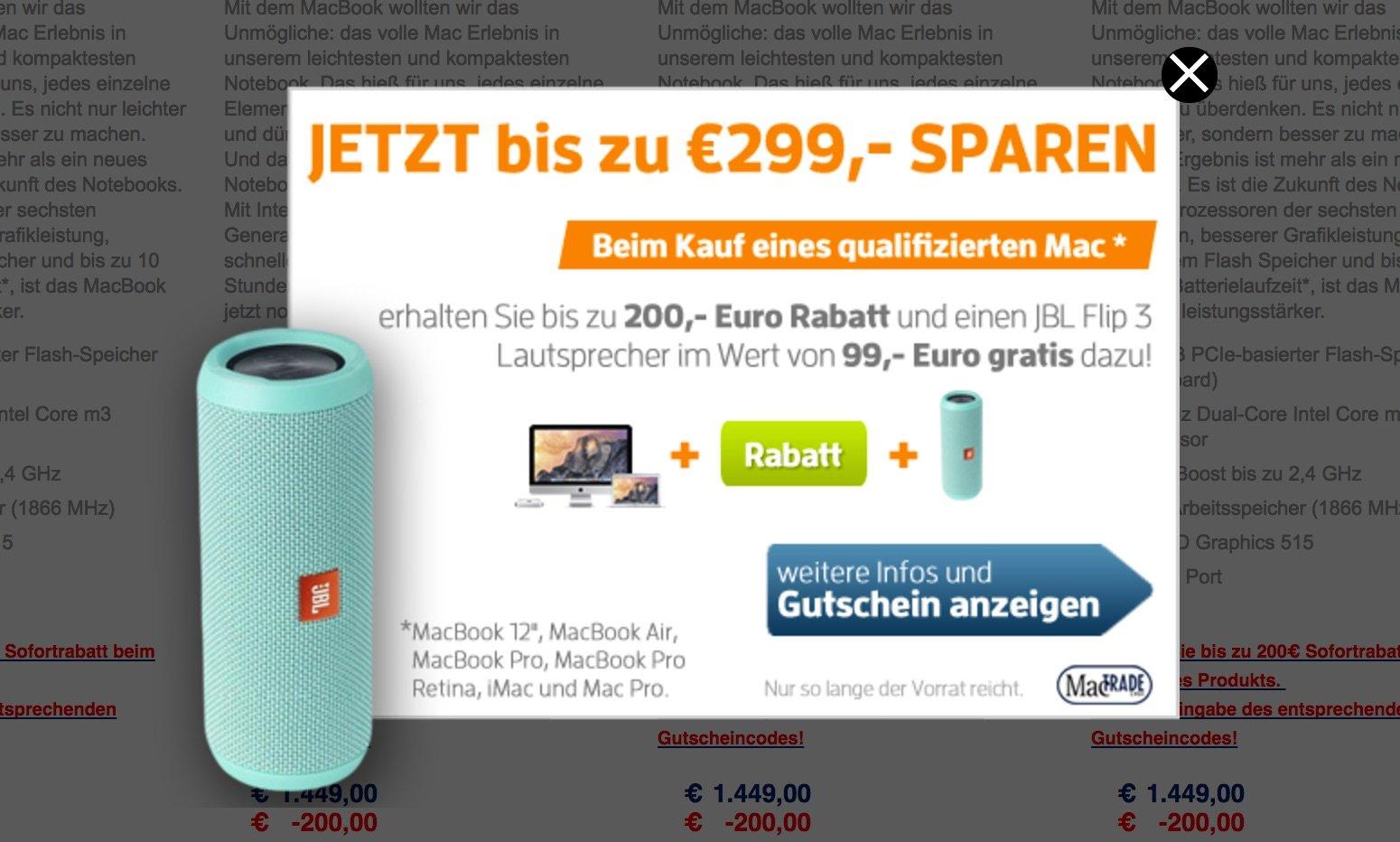 Apple MacBook Pro billiger kaufen: bis zu 299€ Rabatt bei MacTrade 12