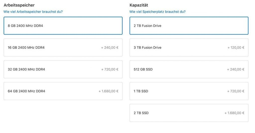 iMac 2017 Kauf-Beratung: 27 Zoll Retina 5K, Minimum-RAM, SSD! 3