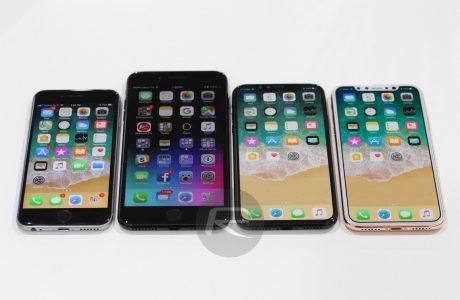 Vergleich iPhone X, iPhone 7, iPhone 7 Plus: mehr Display, kleiner als gedacht? 5
