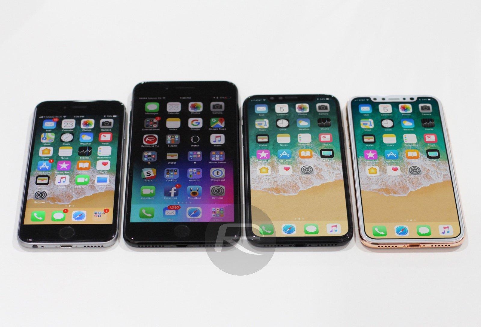 Vergleich iPhone X, iPhone 7, iPhone 7 Plus: mehr Display, kleiner als gedacht? 6