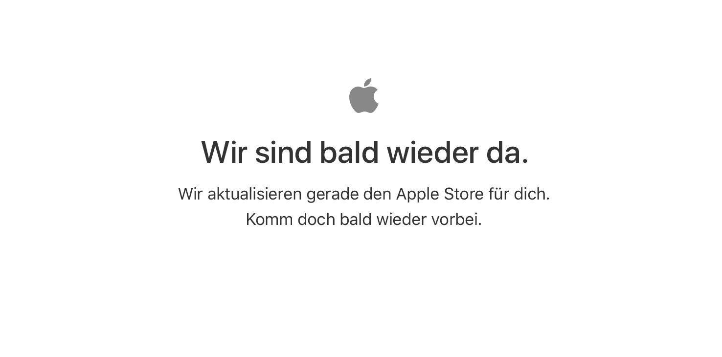 Apple Store down: Bereitmachen für iPhone X Start 1