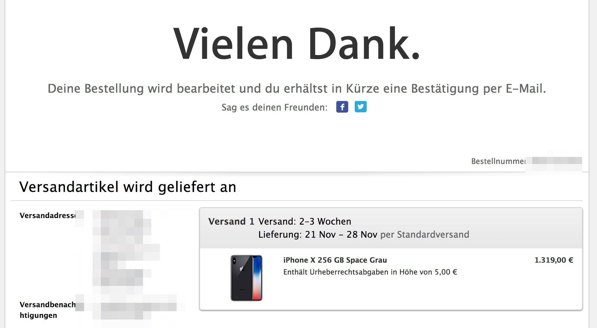 iphone x vorbestellen ohne vertrag