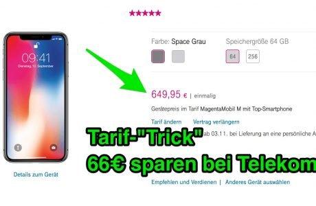 "Telekom: iPhone X ohne ""Top-Smartphone"" Tarif spart 66 Euro! 3"