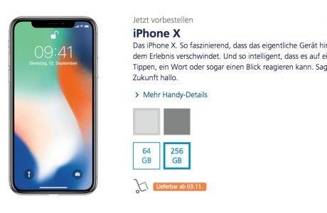 O2 Tarif-Upgrade mit iPhone X: nur 10 Euro für 10 GB mehr LTE Volumen 6