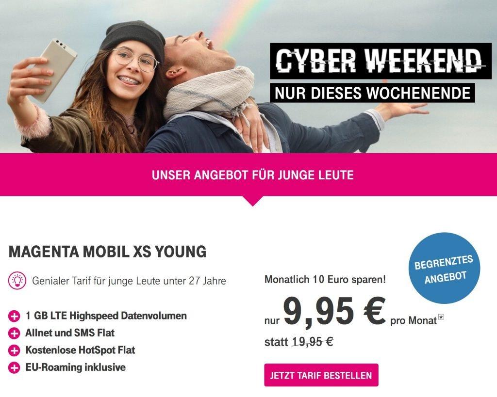 telekom aktion 240 euro sparen beim cyber weekend deal. Black Bedroom Furniture Sets. Home Design Ideas
